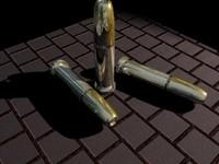 hollow point bullet 3d model