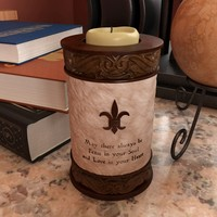candle holder quote scale 3d model