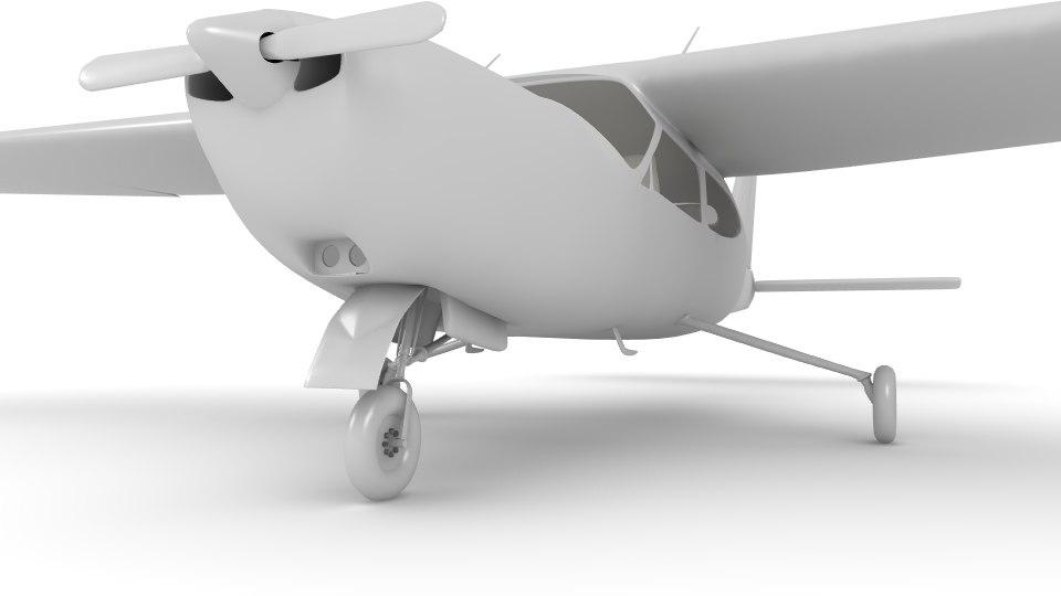 3d model cessna cardinal 177 plane