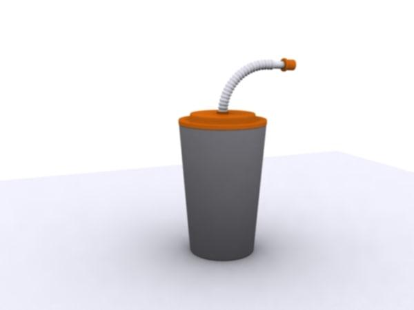 free cup 3d model