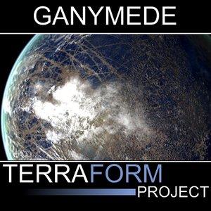 3d model ganymede terraform
