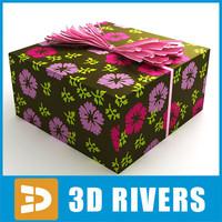 3d gift wrap model