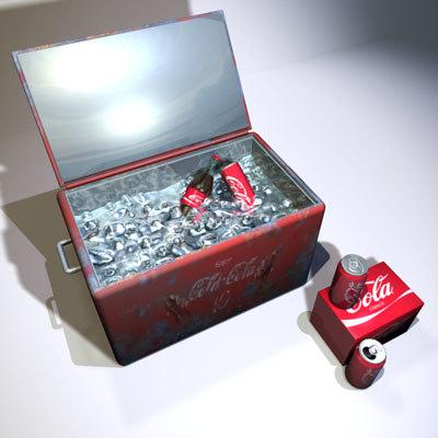 3ds max ice chest 01