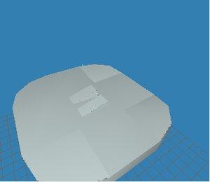 free light switch 3d model
