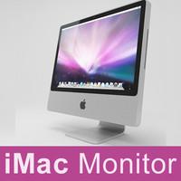 imac monitor 3d max