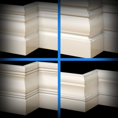 3ds max base moulding scale -