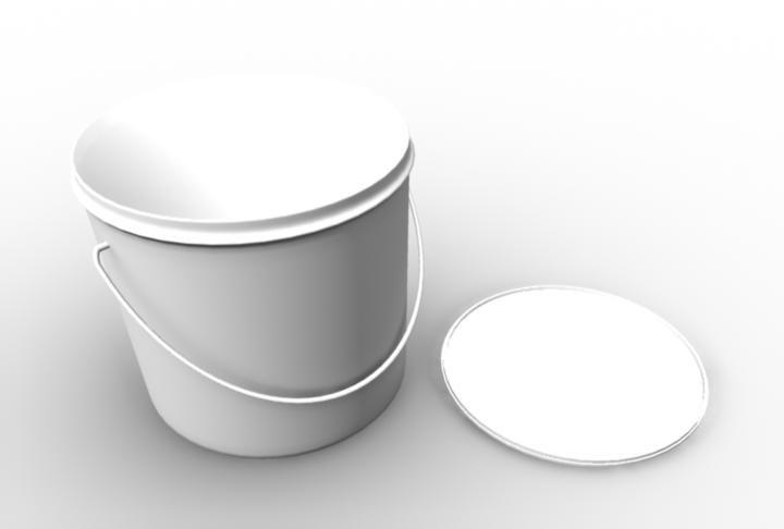 obj paint bucket lid