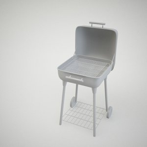 3ds max barbeque