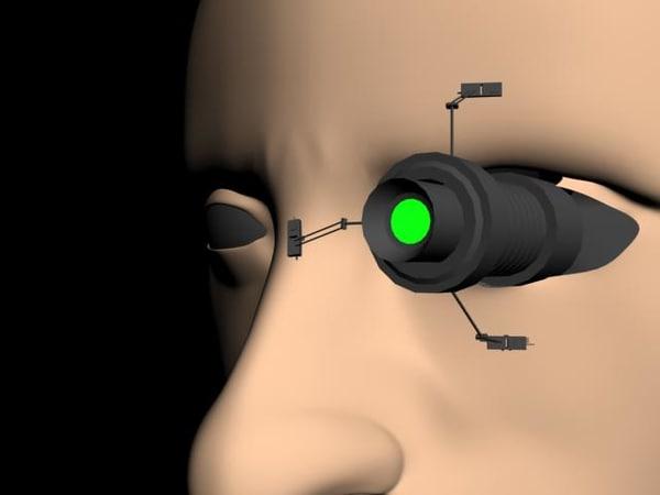 human robot 3d max