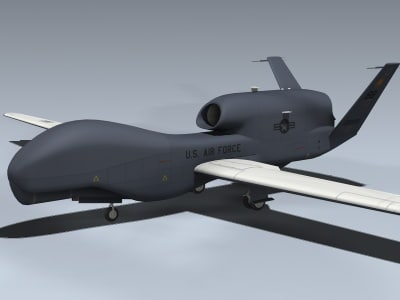 rq-4a operational scheme 3d max