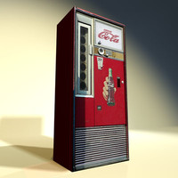 soda machine 01 3d 3ds