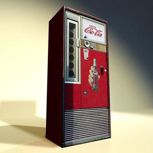 soda machine 01 3d 3ds