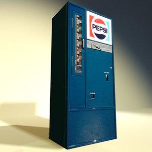 3d model soda machine 03