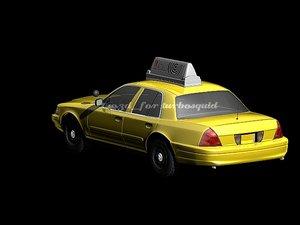 lightwave taxy cab