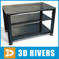Tv table by 3DRivers