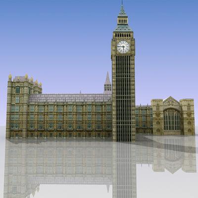 house parliament 3d max
