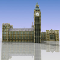 house parliament 3d max