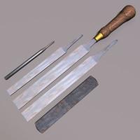 wood files rasp 01 max