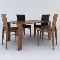 dining room table chairs 3ds