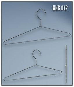 3d model of clothes hanger