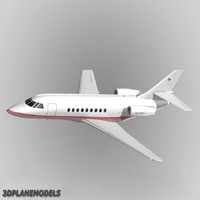 Dassault Falcon 2000 Private livery 2