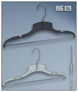 clothes hanger 3d max