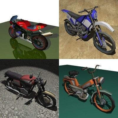 3ds motorbike pack
