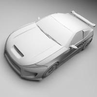 3ds max blackfire concept car
