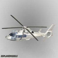 3d max eurocopter dauphin ii generic