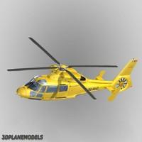 eurocopter dauphin ii nhv 3d dxf