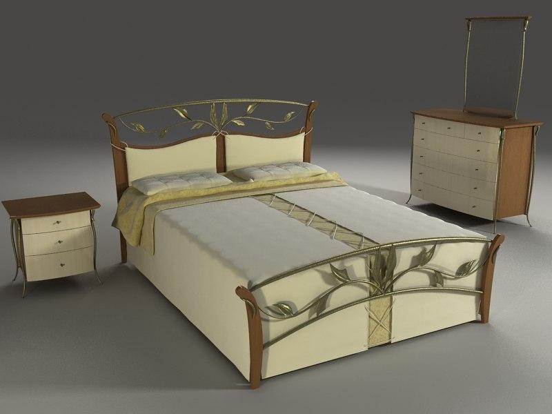 3d model bedroom suite proforma