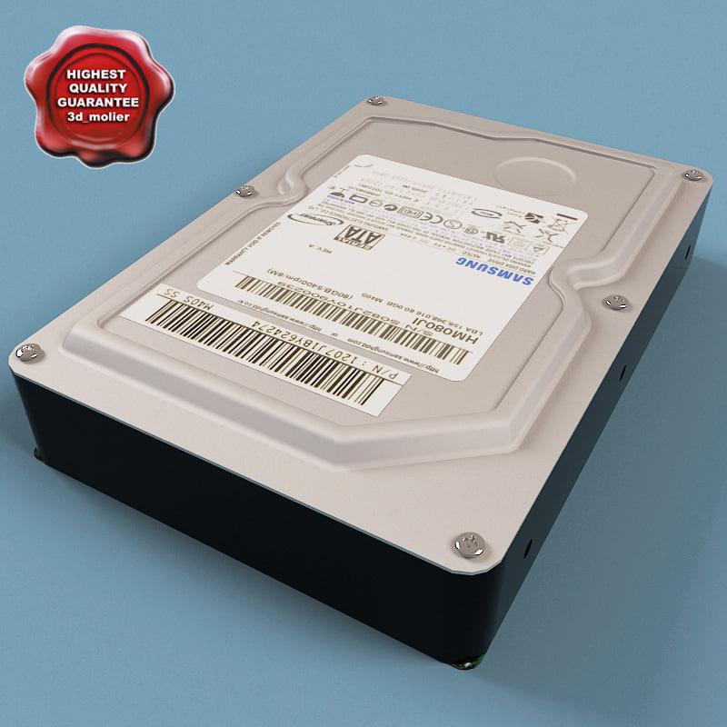 3d hard disk drive