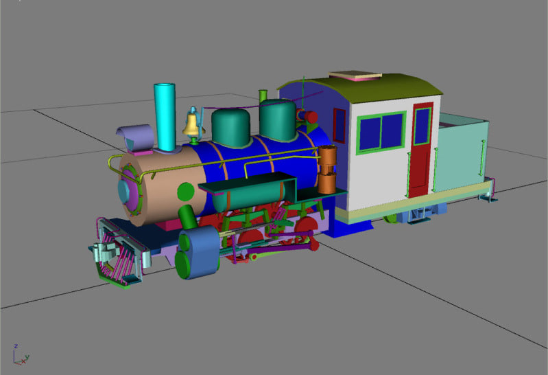 max forney 30in locomotive