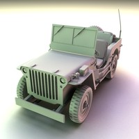 WW2 Willis Jeep