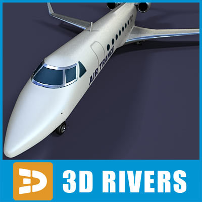 gulfstream g500 jets 3ds