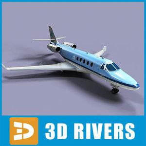 3d gulfstream g150 jets model