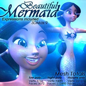 mermaid expressions max