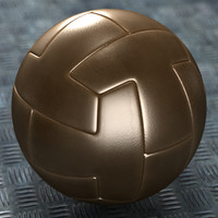OLD STYLE VINTAGE LEATHER SOCCER BALL 2