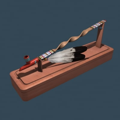 4 winds peace pipe 3d 3ds