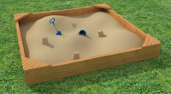 sand box bucket spade x