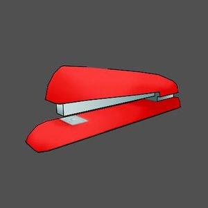 maya stapler toon