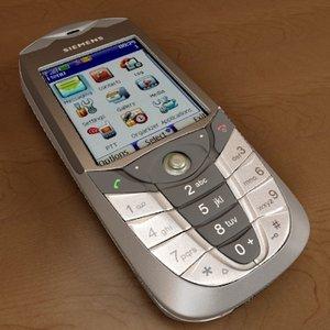3d max siemens cx65 celular