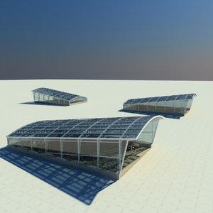 3d model subway materials render