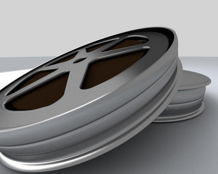 film spool 3d max