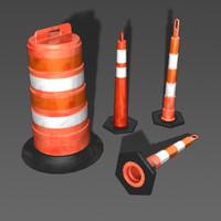 StackerCones_ConstructionBarrel.mb
