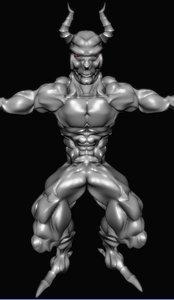 devil realtime muscle obj