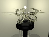 3d dragon lamp