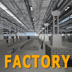 3d model factory compression
