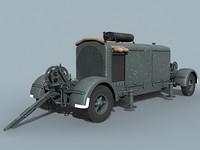 3d model german wwii generator