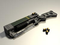 aer9 laser rifle 3d model